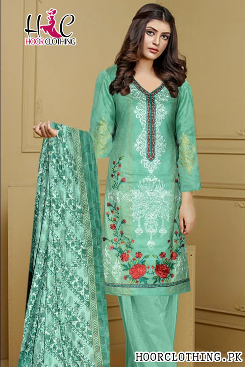 689203c509 Maya B Printed Lawn Dress Master Replica Eid Collection 2018