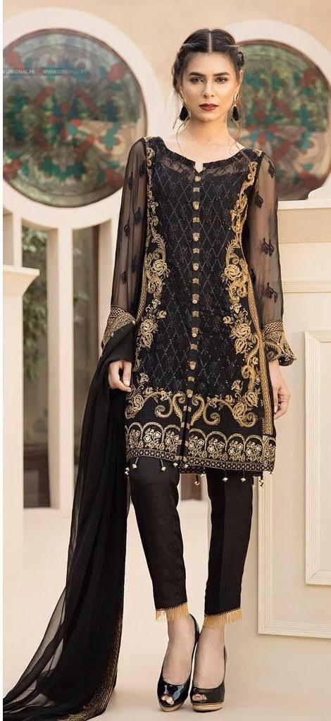Apsaraa 3pc Lawn Collection Summer Dress with Bamber chiffon embroidered duppta