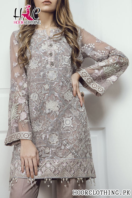 8f204b0643 Baroque Luxury Embroidered Lawn Collection Eid Dress Un-stitched 3 piece Master  Replica