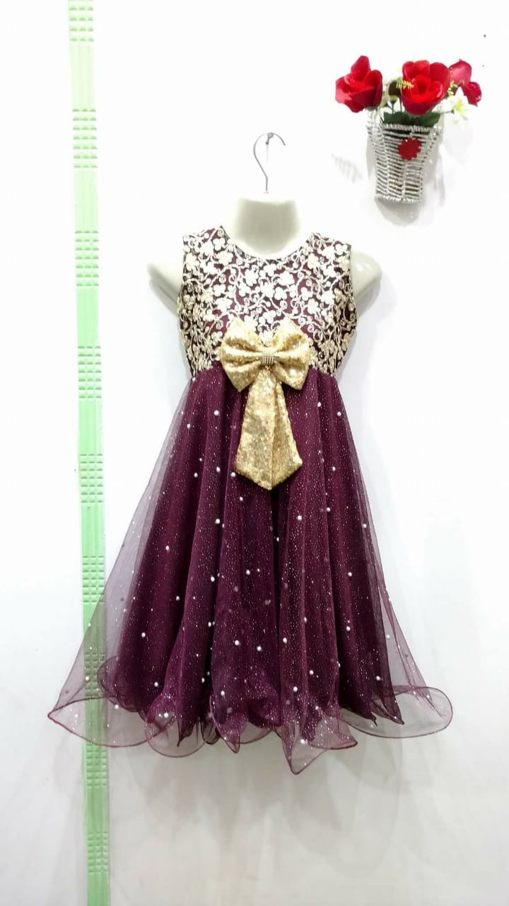 Brand new collection Net Frock for girls for eid - Size 1-18 age