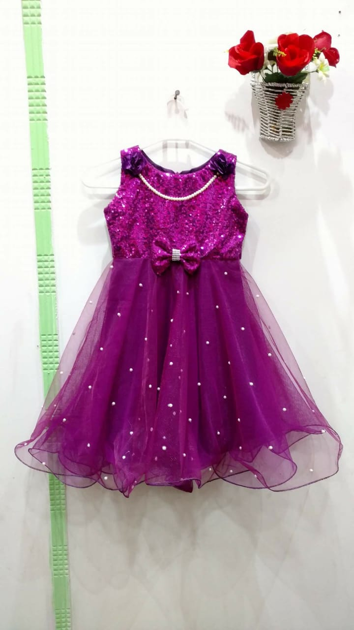 Brand new Girls net frock with bow - Size 1-18 years