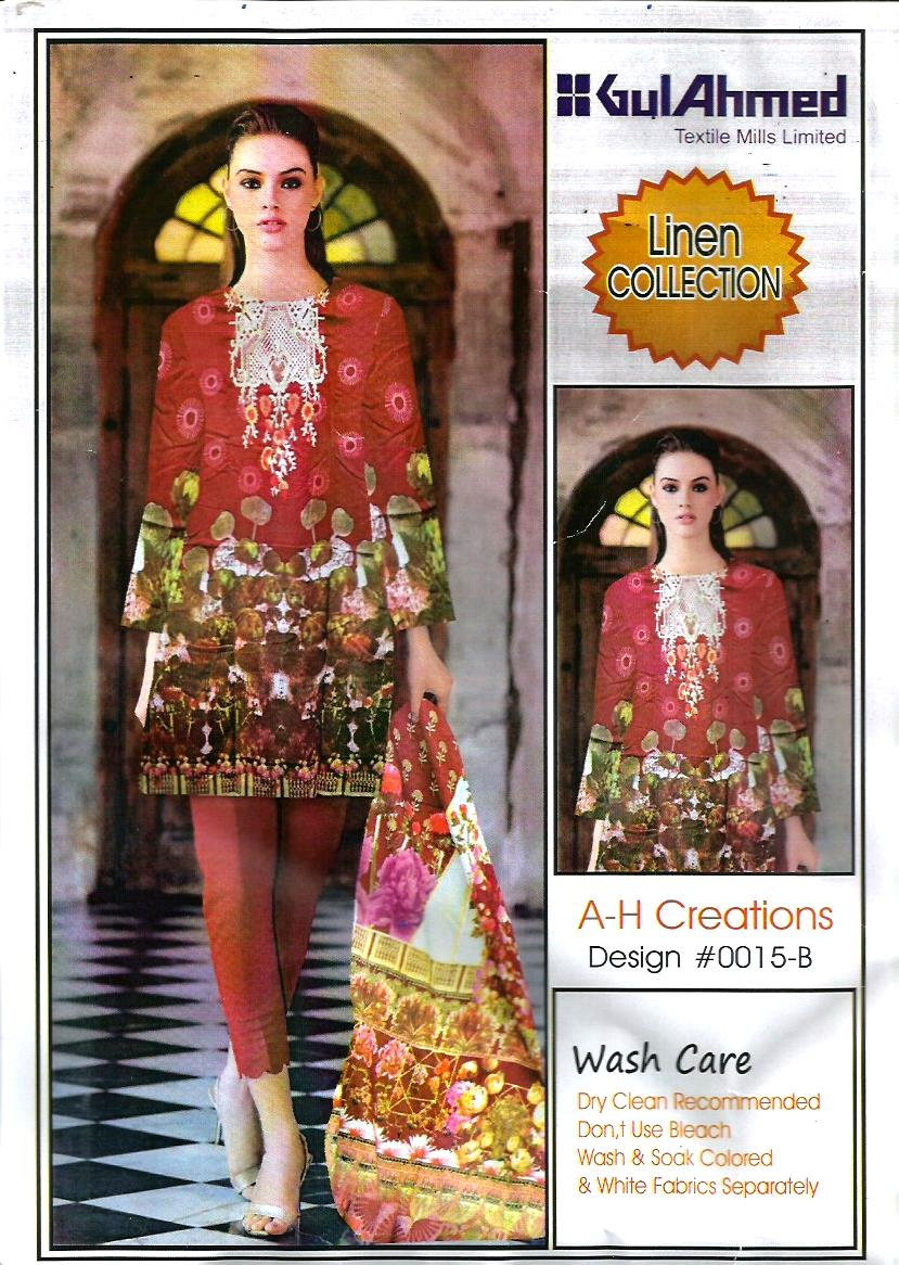 Burgundy Color Women Linen Dress Designer Replica With Printed Chiffon Dopatta