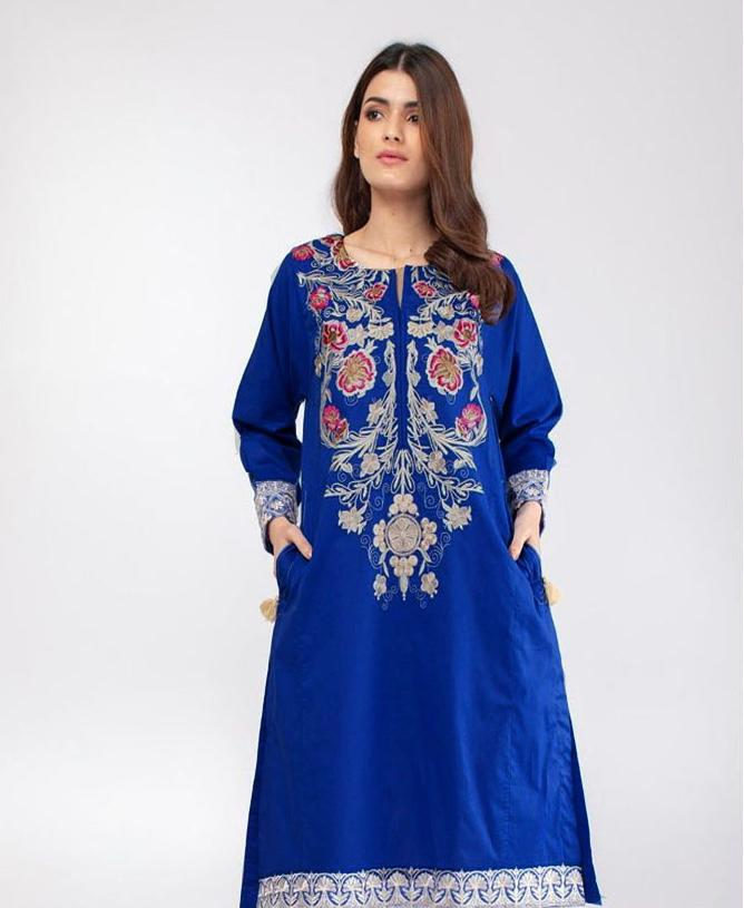 Khaadi 2pc Lawn Collection Summer Dress