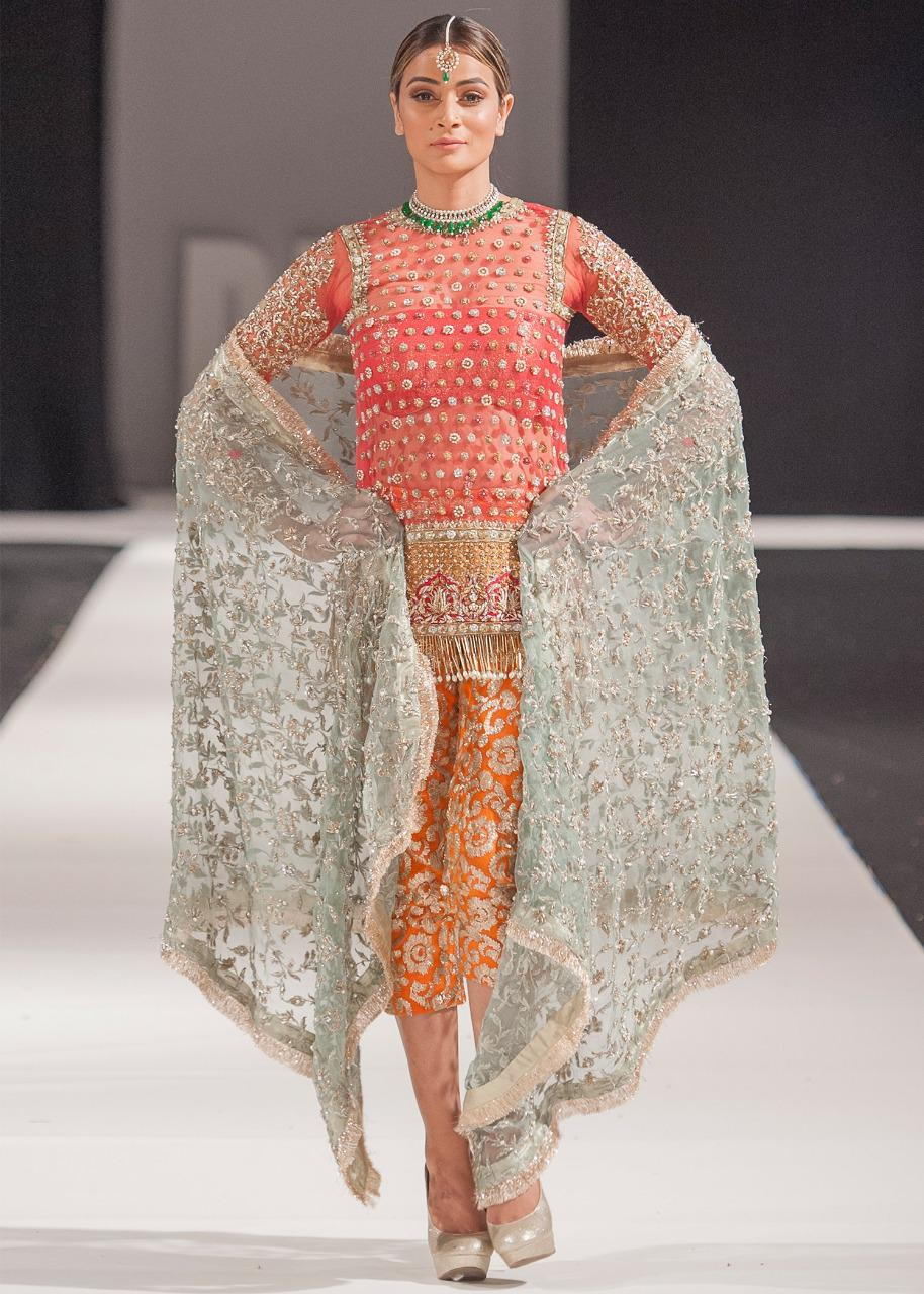 Maria B Brand Replica Ladies 3pc Lawn Collection Summer Dress with Bamber Chiffon embroidered dupatta