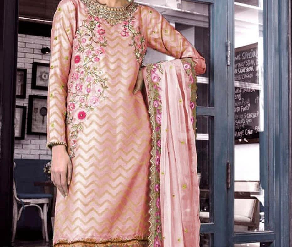 Orient brand Ladies 3pc Lawn Collection Summer Dress with Chiffon duppta